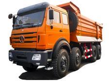 beiben tipper truck