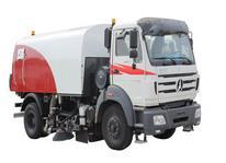 Beiben road sweeper truck