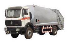 beiben refuse compactor trucks