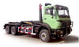beiben hook loader truck