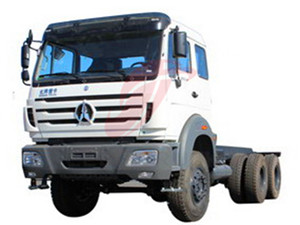 Benz 2534 towing truck