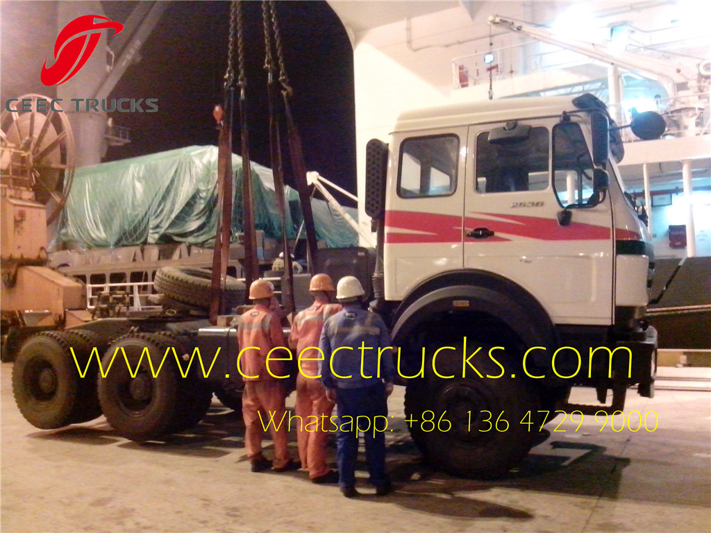 Beiben 2538 towing truck