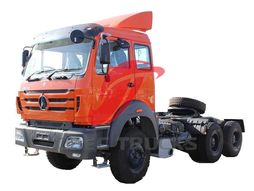 Beiben 2638 RHD tractor trucks export