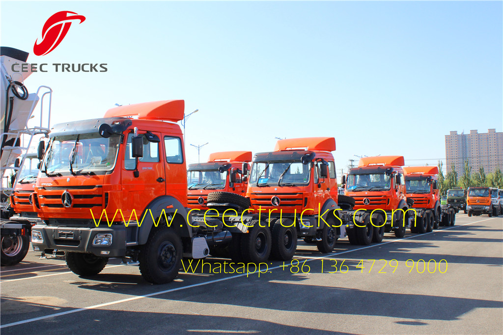 Beiben 2638 RHD tractor trucks for Kenya