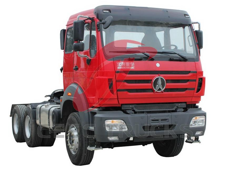 beiben 2542 tractor truck