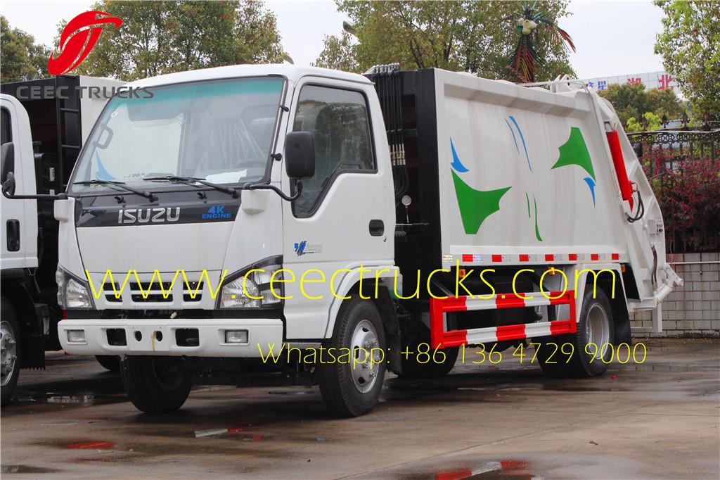 ISUZU 5cbm garbage compactor truck