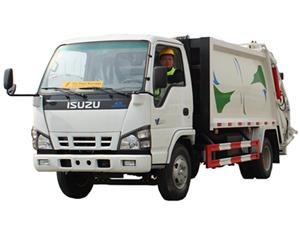 5 CBM garbage compactor truck