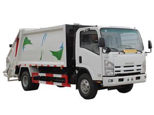 8 cbm refuse compactor truck