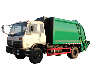 12cbm refuse compression vehicle