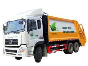 ISUZU 20CBM trash compactor trucks