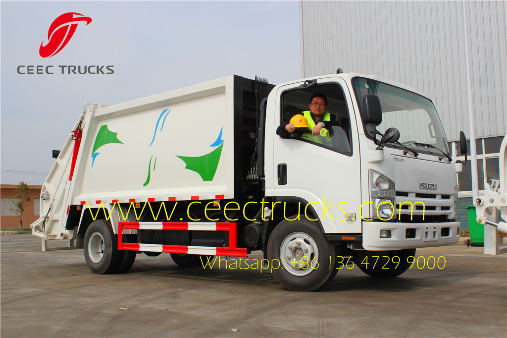 ISUZU 8cbm refuse comression trucks