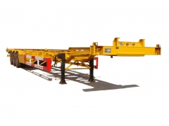 skeleton container semitrailer