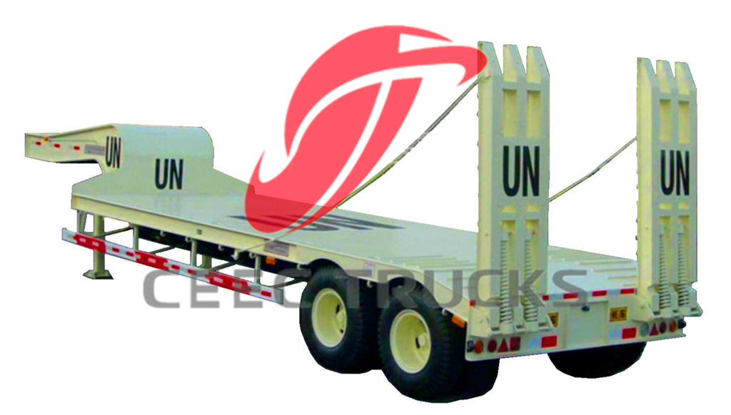 low bed semitrailer for UN