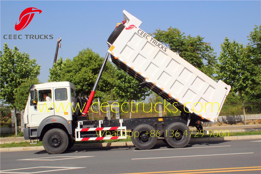 Beiben 10 wheeler dumper trucks