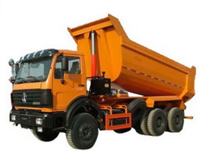 beiben 60 T tipper truck