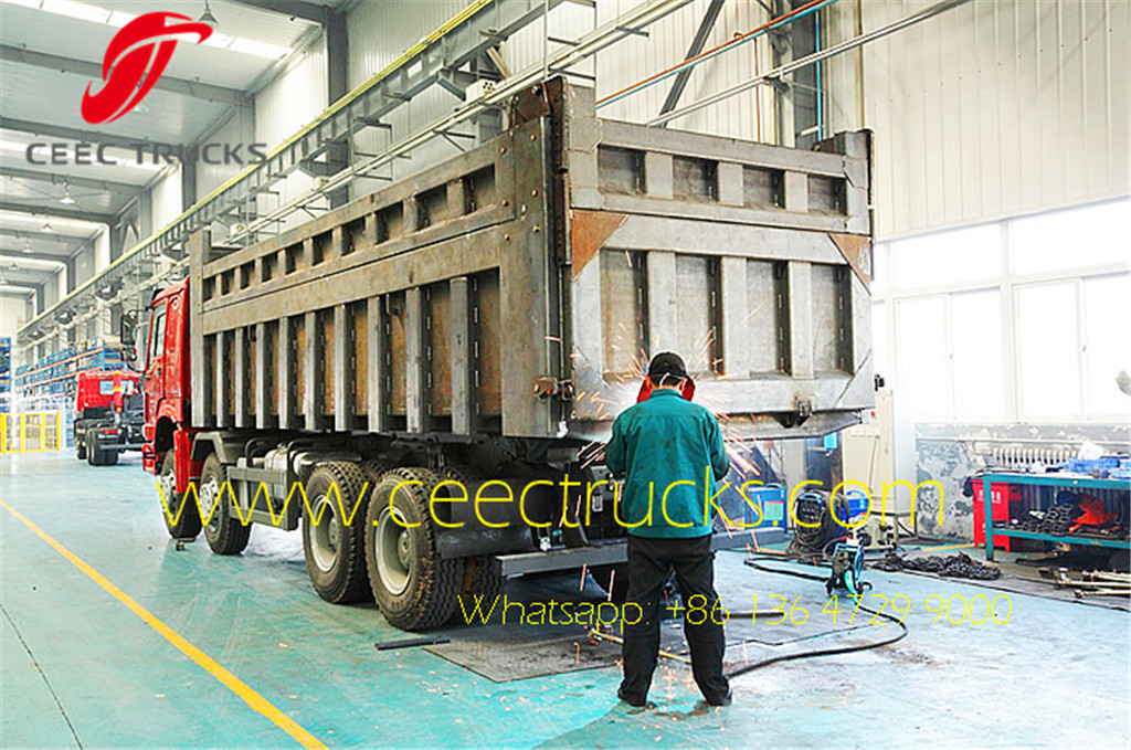 CEEC tipper truck workshop