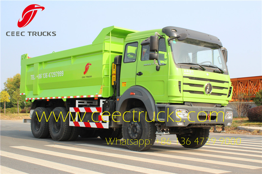 beiben 2538 tipper truck supplier