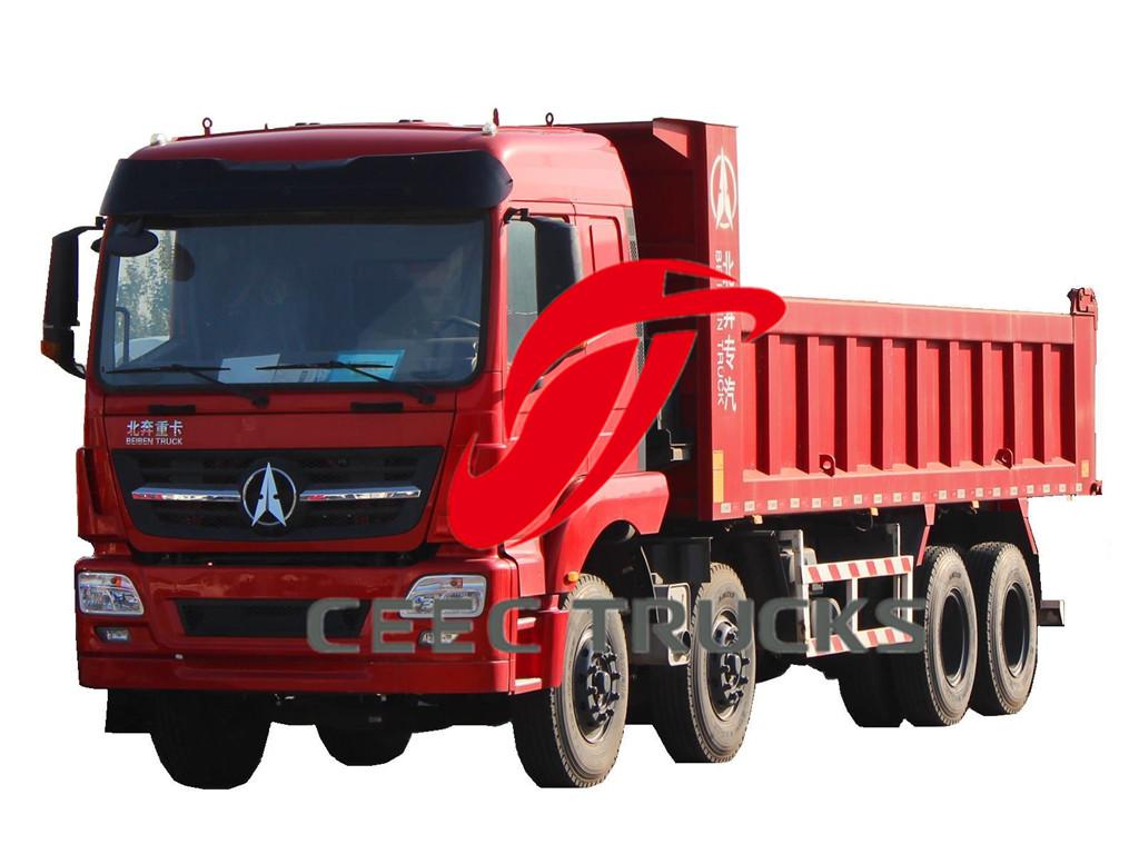 beiben 12 wheeler dumper trucks