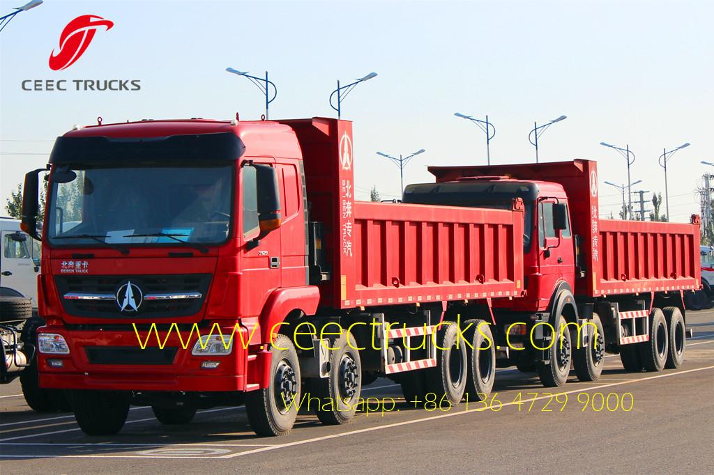 beiben 3142 tipper truck