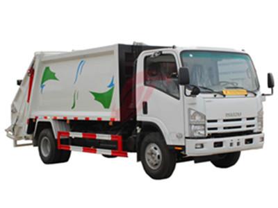 ISUZU 8 cbm refuse compactor truck