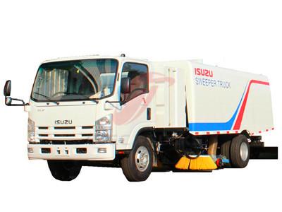 ISUZU 6+2 CBM sweeping truck