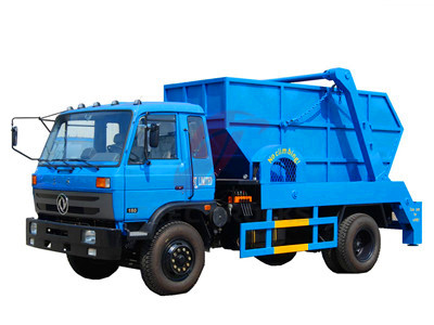 dongfeng 10-12CBM skip loader truck