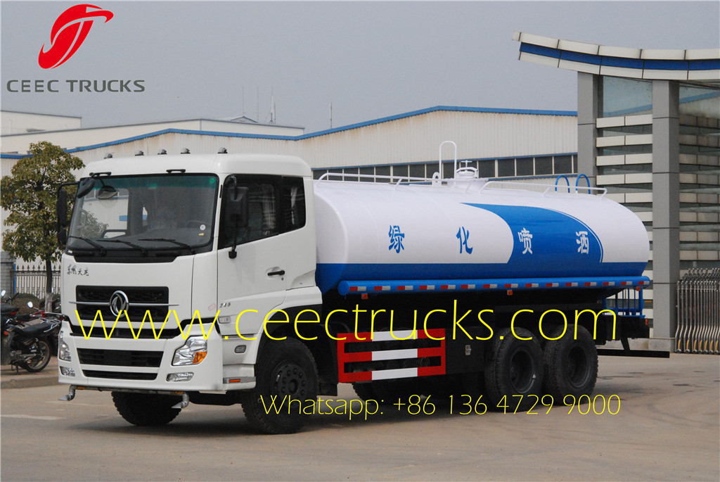 20 CBM water tanker truck manufacturer directly sale