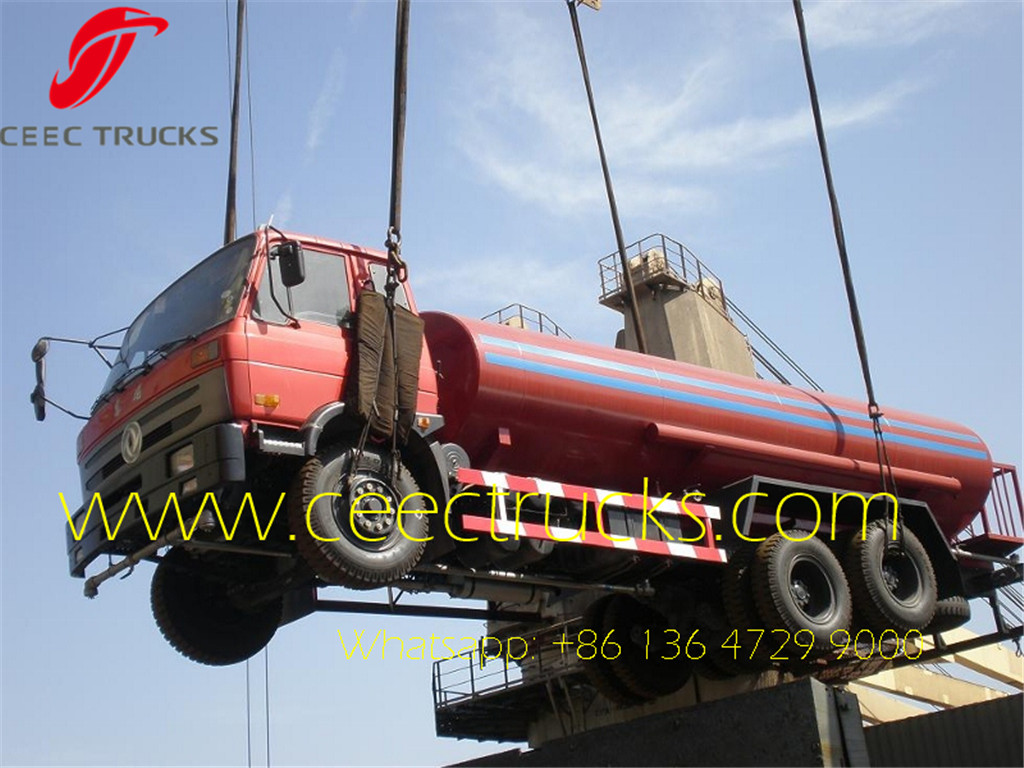 20 CBM water tanker truck for shipment to Congo