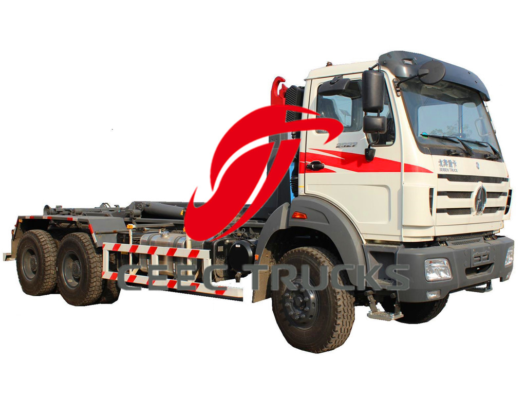 beiben hook loader garbage truck