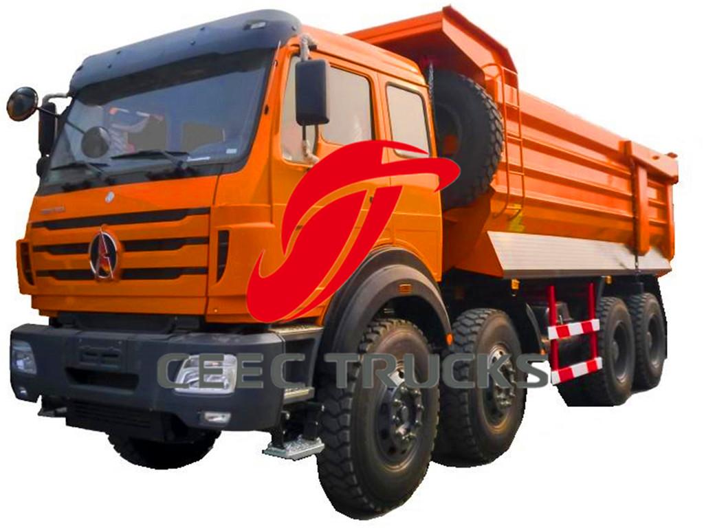 beiben 12 wheeler dumper truck