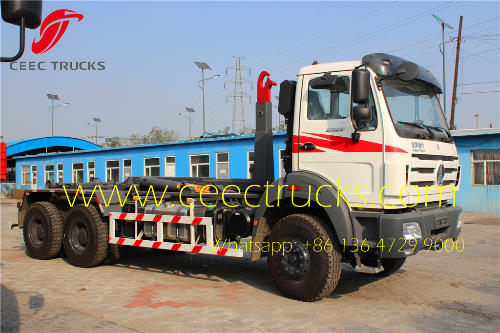 beiben 10 wheeler hook loader trucks
