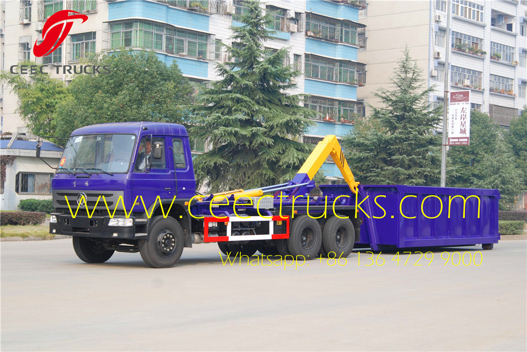 dongfeng 16 T hook loader truck