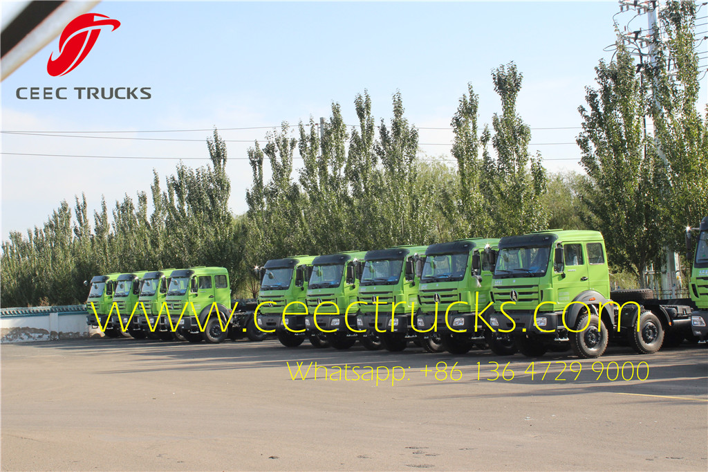 beiben 16 T hook loader truck in factory stock