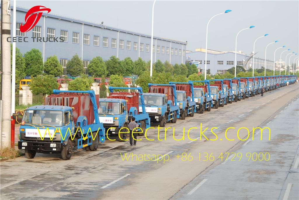 38 Units dongfeng 10-12CBM skip loader truck