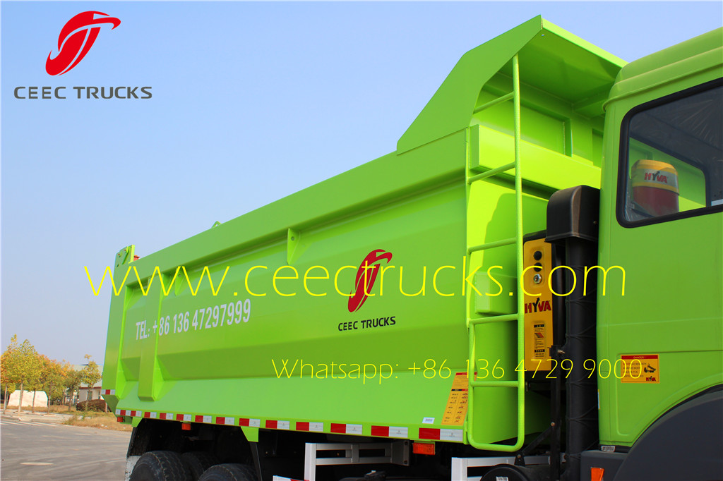 beiben 2538 tipper truck