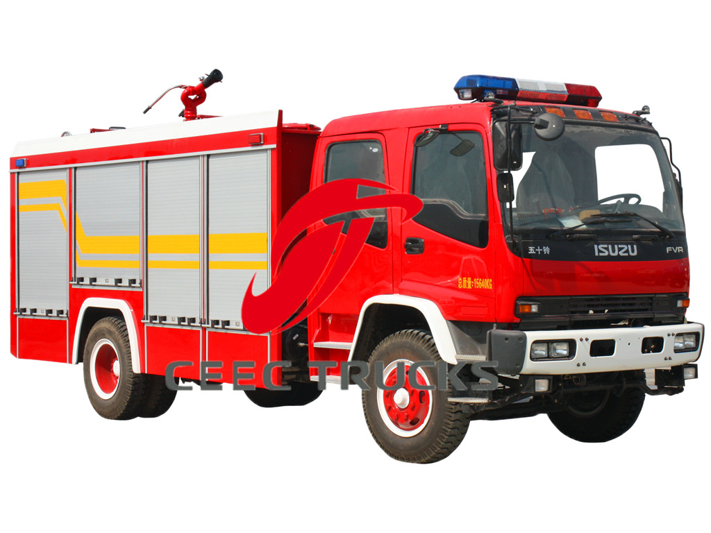 ISUZU 5 CBM fire fighting truck