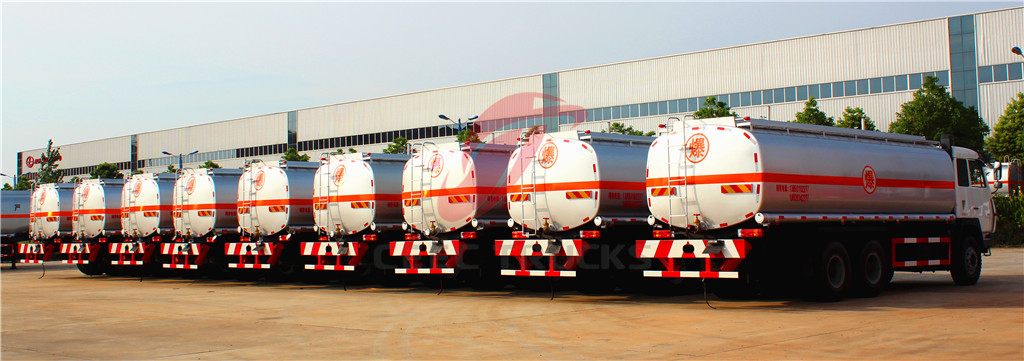 beiben 20 CBM fuel tanker truck in factory
