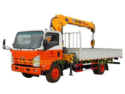 isuzu 5 t truck mounted crane