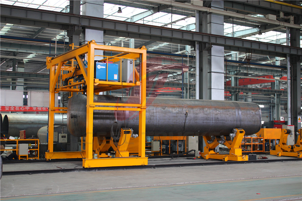 beiben offroad water tanker truck factory plant
