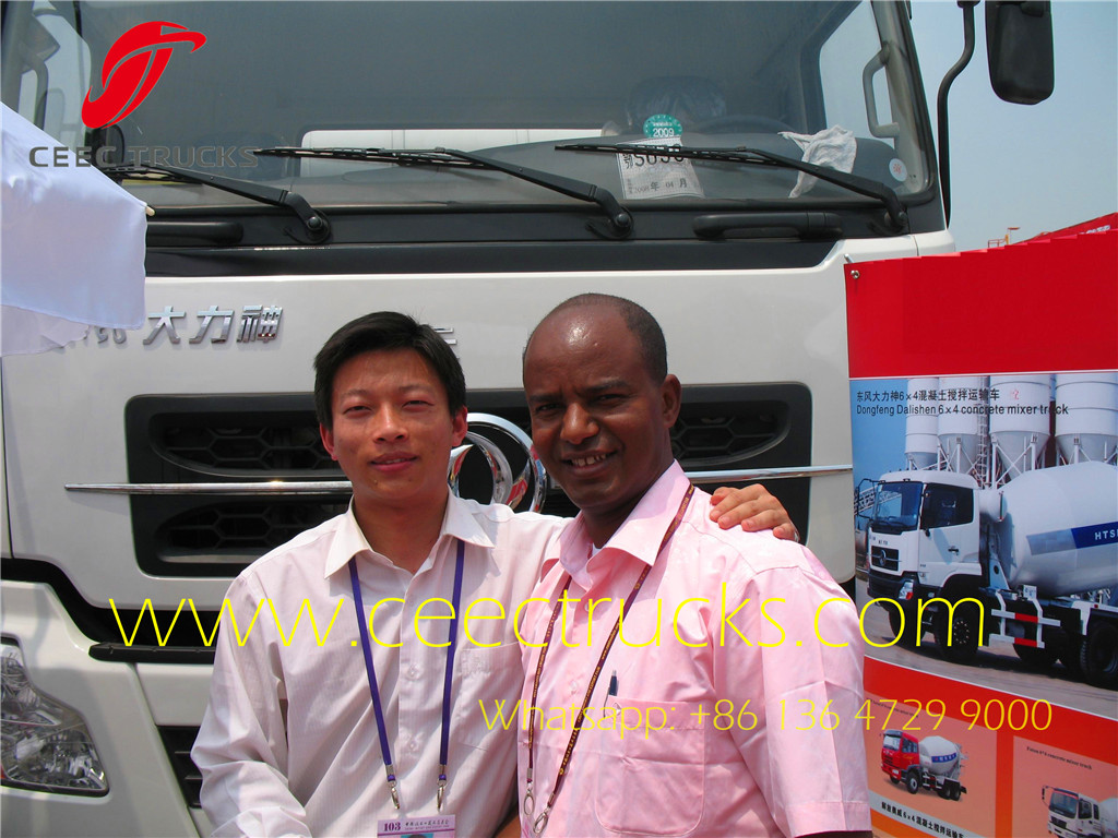 Kenya customer visiting us at Canton Fair