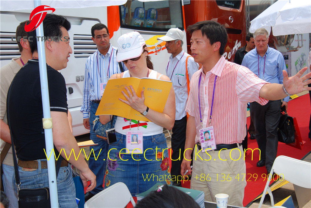 Myanmar customer visiting us at Canton Fair