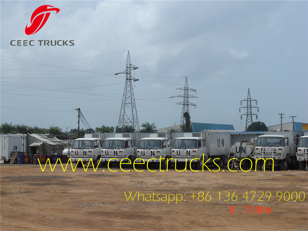 CEEC manufacture mobile workshop trucks for UN project