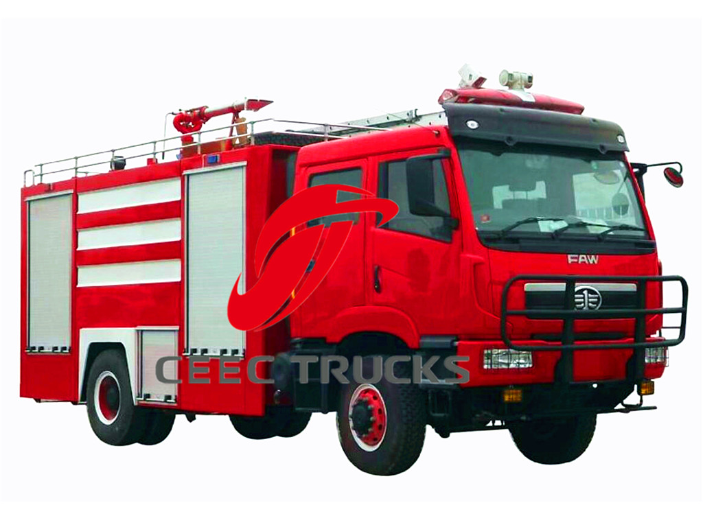faw firefighting truck export Uganda