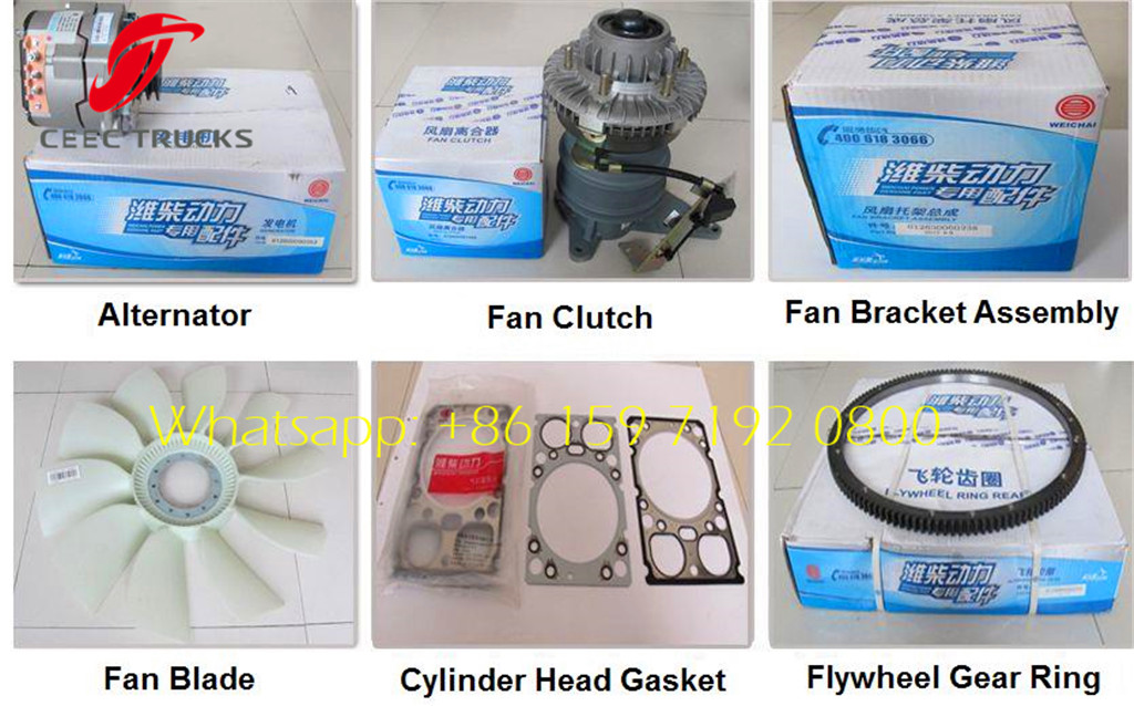 beiben trucks weichai engine parts overview