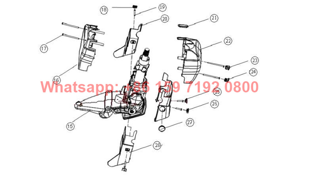Genuine Beiben Steering box ZF8098 supplier
