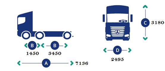 Beiben brand new tractor trucks
