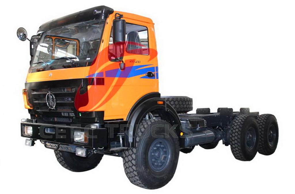 beiben 2628 tractor head