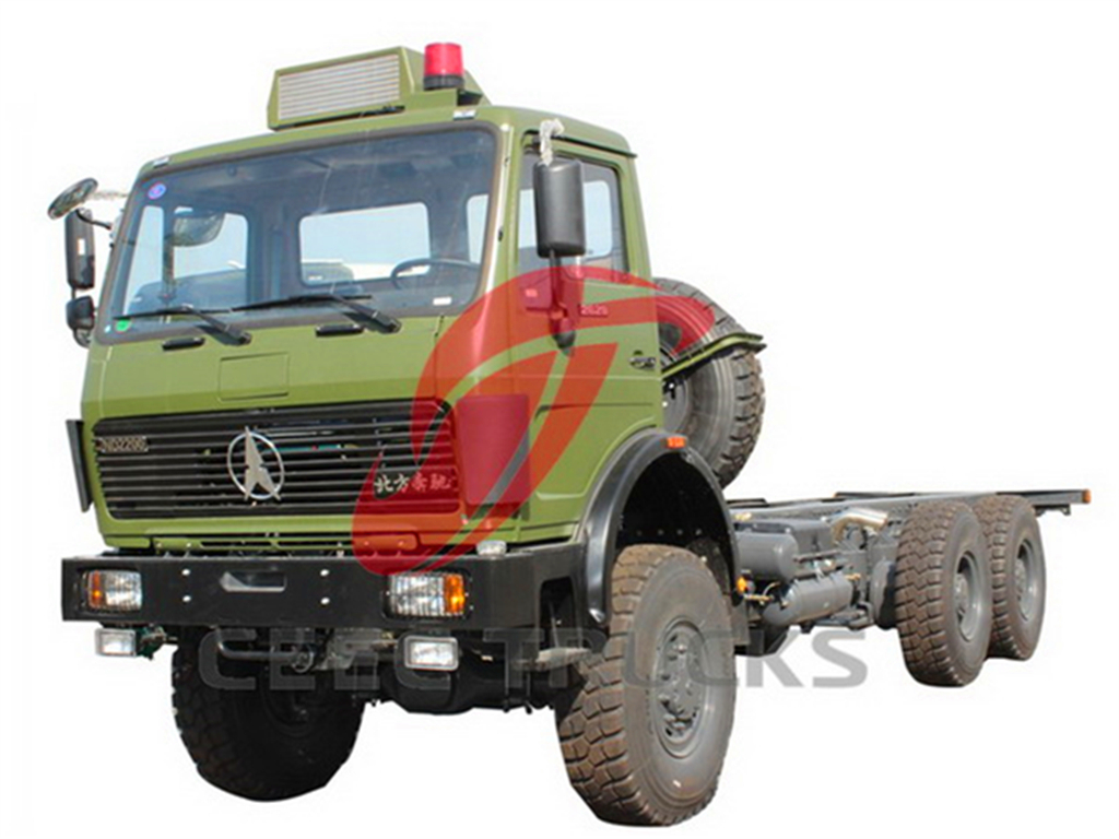 beiben 2636 military towing trucks