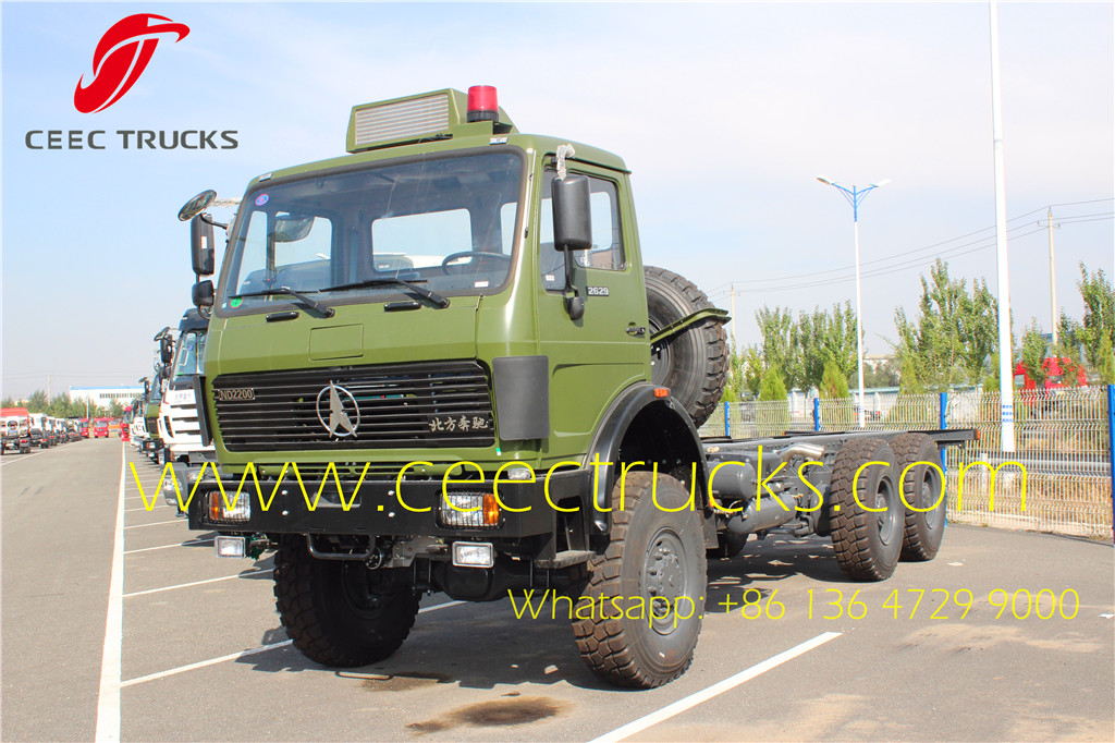 Beiben 2636 towing trucks supplier