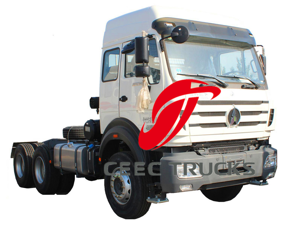 Beiben high roof 2534 tractor truck